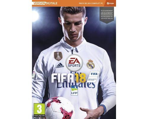 Un Jeu FIFA 18 pour PC