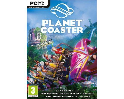 Un jeu Planet Coaster pour PC