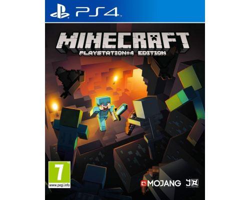 Un jeu Minecraft pour Paystation 4
