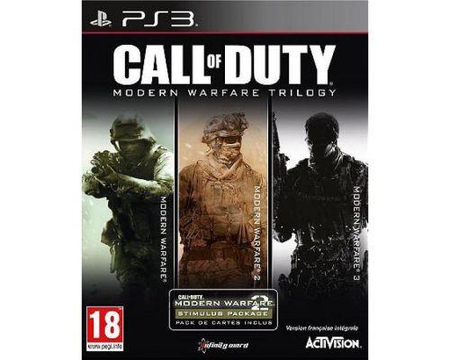Un jeu Call of Duty: Modern Warfare Trilogy pour PS3