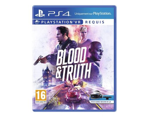 Un Jeu PS4 Blood and Truth