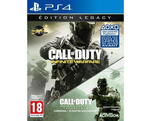 un jeu ps4 Call of Duty -  Infinite Warfare