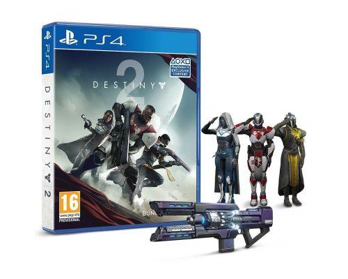 Un Jeu PS4 Destiny 2 avec Emote Salut Militaire