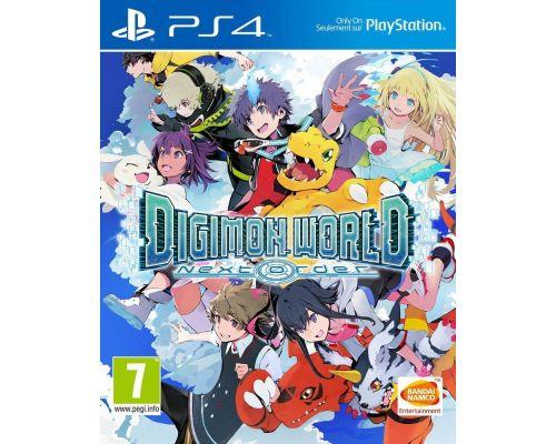 Un Jeu PS4 Digimon World