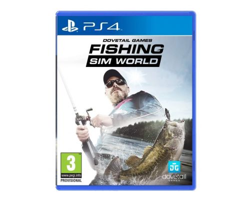 Un Jeu PS4 Fishing Sim World