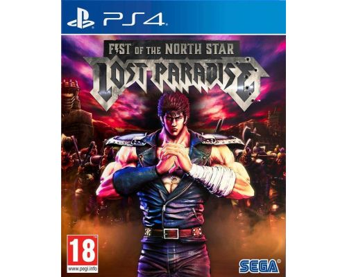Un Jeu PS4 Fist of The North Star Lost Paradise