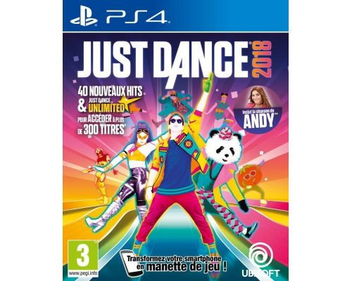 Un Jeu PS4 Just Dance 2018