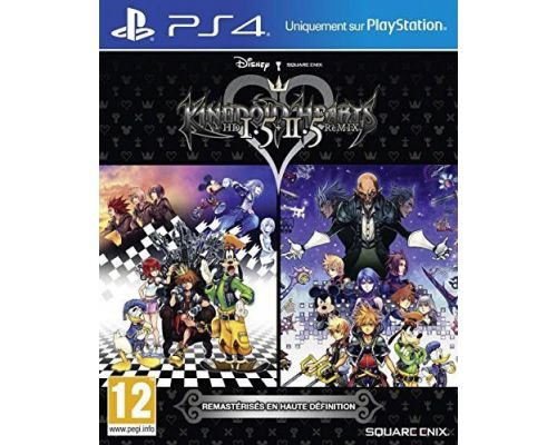 Un Jeu PS4 Kingdom Heats Hd