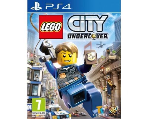 Un Jeu PS4 Lego City Undercover