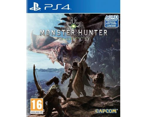 Un Jeu PS4 Monster Hunter World