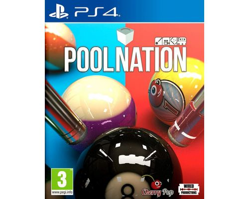 Un Jeu PS4 Pool Nation