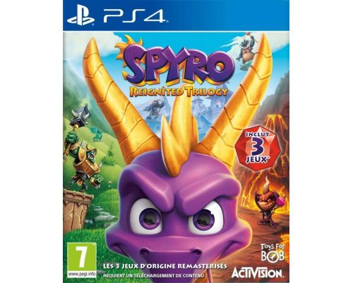 Un Jeu PS4 Spyro Reignited Trilogy