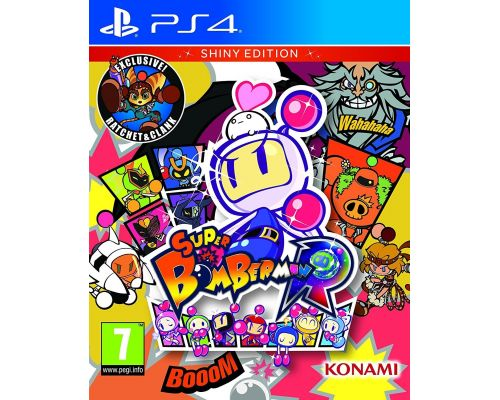 Un Jeu PS4 Super Bomberman R
