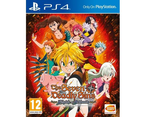 Un Jeu PS4 The Seven Deadly Sins: Knights of Britannia