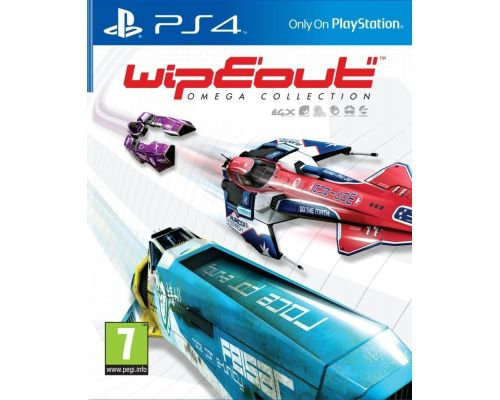 Un jeu Wipeout Omega Collection