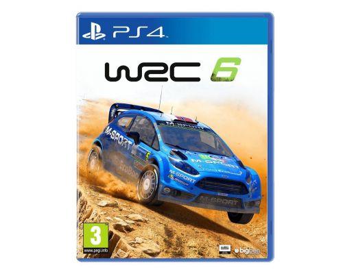 Un Jeu PS4 WRC6