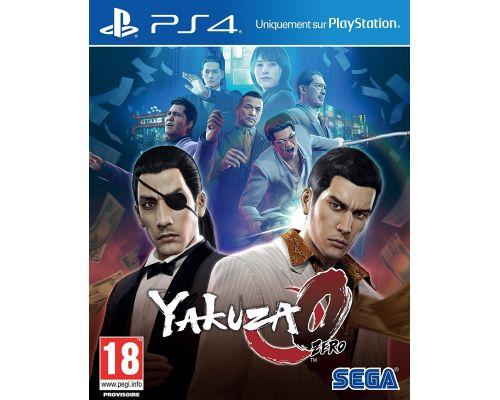 Un Jeu PS4 Yakuza 0