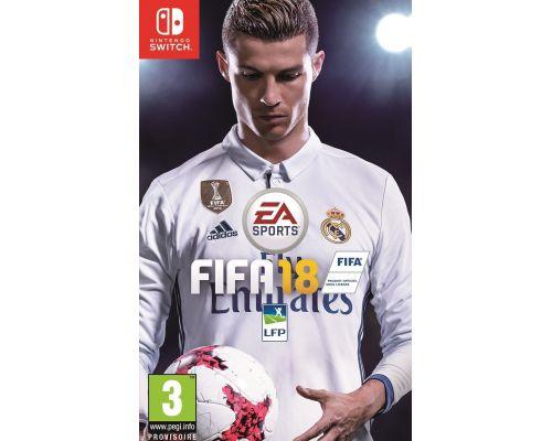 Un jeu FIFA 18 pour switch