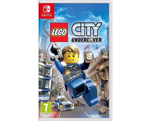 Un Jeu Switch Lego City Undercover