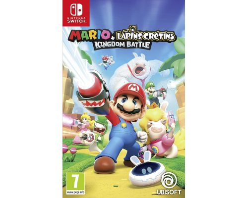Un jeu Mario + The Lapins Crétins: Kingdom Battle pour Switch