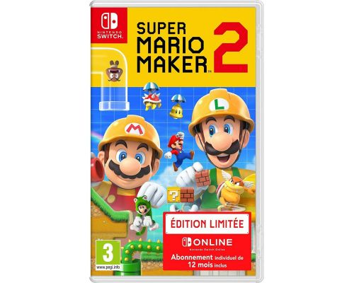 Un Jeu Switch Super Mario Maker 2
