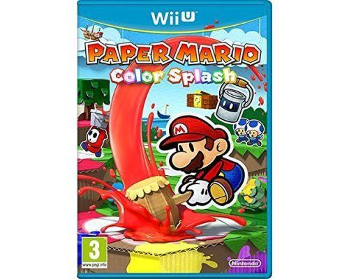 Un jeu Paper Mario : Color Splash pour Wii U