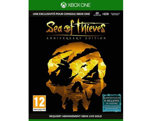 Un Jeu Xbox One Sea of Thieves: Edition Anniversaire
