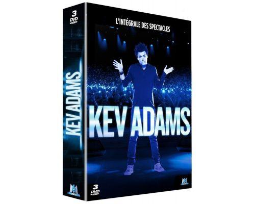 Un Coffret Kev Adams - L'intégrale des spectacles