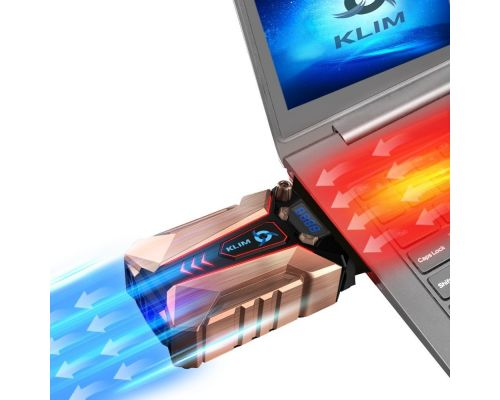 Un Refroidisseur PC portable en métal KLIM Cool+