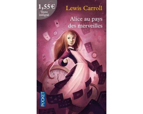 Un livre Alice au pays des merveilles