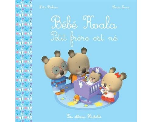 A baby book Koala - Little brother was born