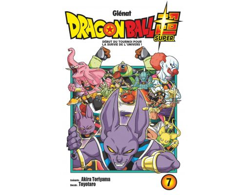 Un Livre Dragon Ball Super - Tome 07