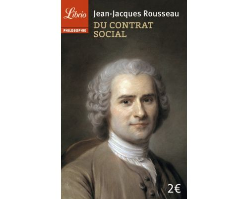 Un livre Du contrat social : Principes du droit politique