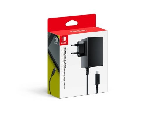 Un Adaptateur secteur pour Nintendo Switch