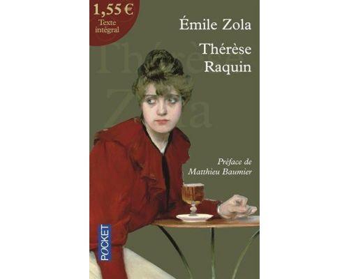 Le livre Thérèse Raquin