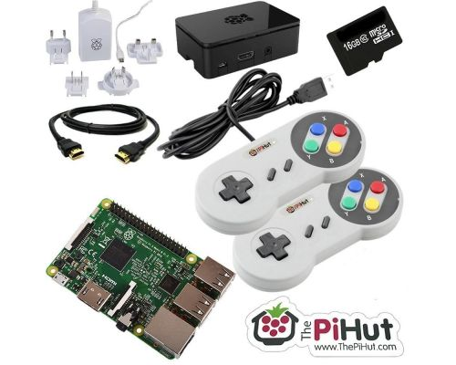 Un Raspberry Pi 3 16GB Retro Gaming Bundle