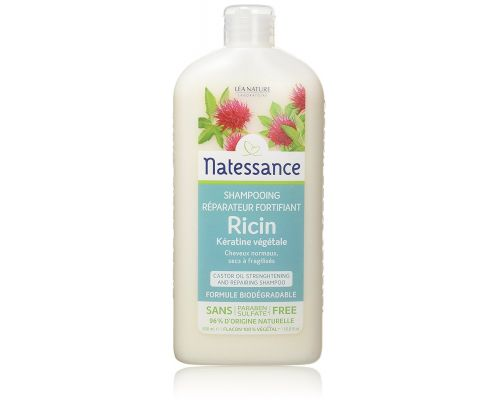 Un Shampooing A Lhuile de Ricin et Keratine Vegetale Natessance Capillaire