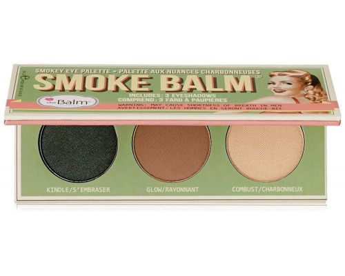 Une Palette de Maquillage Yeux Smoke Balm THEBALM