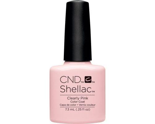 Un Vernis Gel Clearly Pink de CND Shellac