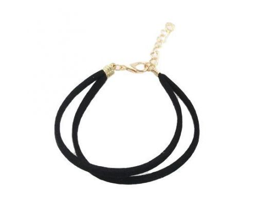 un Bracelet ICandy Twist Simple Noir