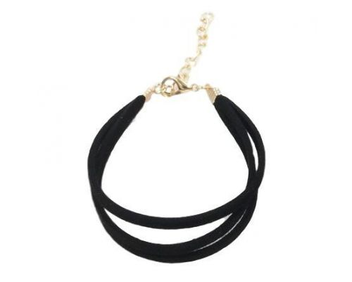 un Bracelet ICandy Twist Triple Noir