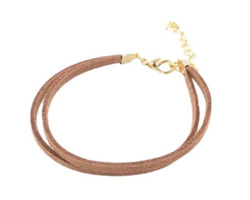 an ICandy Twist Simple Brown Bracelet