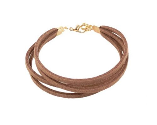 ICandy Bracelet Twist Triple Brown