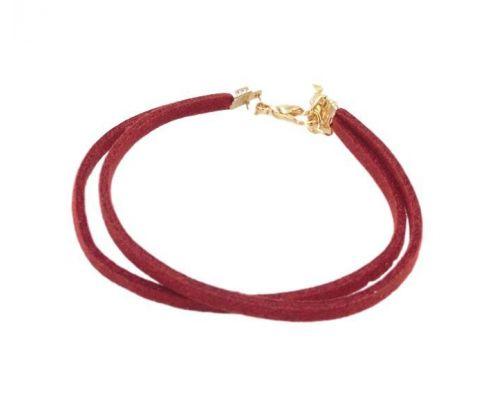 un Bracelet ICandy Twist Simple Rouge