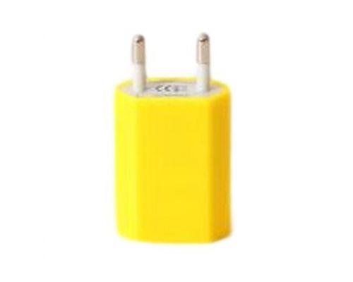 un Chargeur Prise USB Jaune UrbanGeek