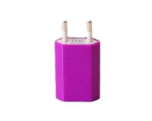 un Chargeur Prise USB Violet UrbanGeek