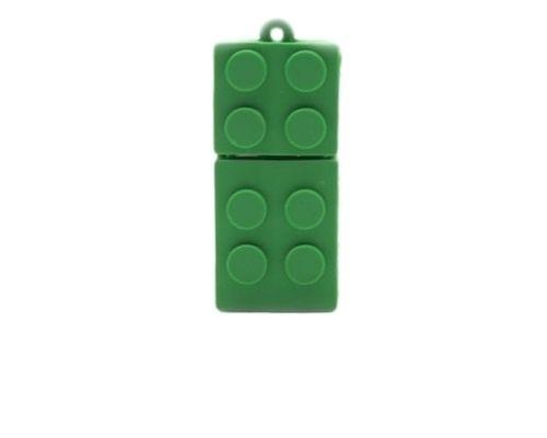 une Clé USB 8Go Lego Vert