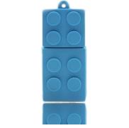 une Clé USB 8Go Lego Bleu