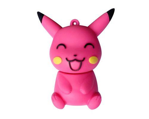 une Clé USB 8Go Pikachu Rose Tirant la Langue