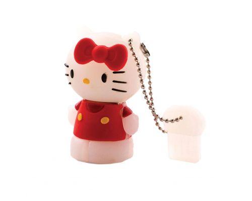 une Clé USB Hello Kitty 8 Go Rouge